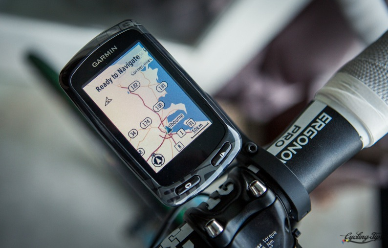 Il Garmin Edge 810