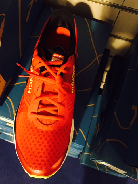 Brooks Launch 3 fronte